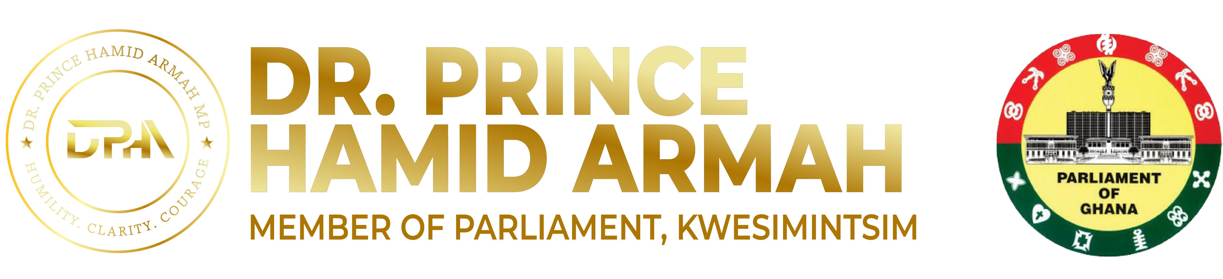 Dr Prince Hamid Armah Parliament logo